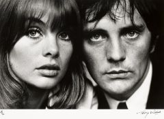 Terry O'Neill (British, 1938-2019); Jean Shrimpton and Terence Stamp;
