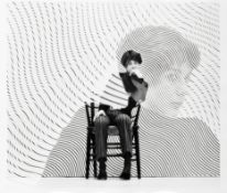 Iain MacMillan (British, 1938-2006) Bridget Riley, circa 1962 6