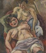 JULES PASCIN (1885-1930) Les Provinciales (Painted in 1913)