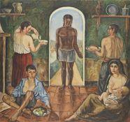 Simon Mondzain (Szamaj Mondszajn) (Polish, circa 1887/1888-1979) L'offrande (unframed)