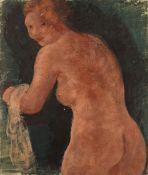 Joachim Weingart (Weingarten) (Polish, 1895-1942) Nu de dos