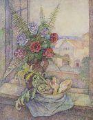 Marevna (Maria Vorobieff) (Russian, 1892-1984) Bouquets de fleurs et artichauts (Painted c. 1940)