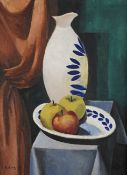 MOÏSE KISLING (Polish, 1891-1953) Nature morte au pichet blanc (Painted in November 1917)