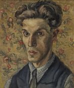 Jacob Macznik (Polish, 1905-1945) Self-portrait (Painted c. 1930)