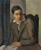 Adolphe Feder (Aizik Feder, dit) (Russian, 1885-1943) Portrait de Lucien Chalit (Painted c. 1920)