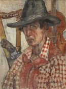 Samuel Granowsky (Ukrainian, 1889-1942) Self-portrait (Painted c. 1920)