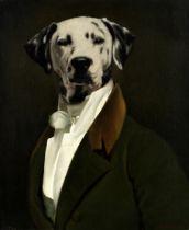 Thierry Poncelet (Belgian, born 1946) A gentleman dalmatian