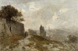 Sir Ernest Albert Waterlow, RA, PRWS (British, 1850-1919) 'Souvenir de Montmartre, Paris'