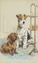 Mabel Gear (British, born 1898) Afternoon tea