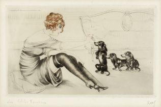 Kaby (20th century) 'Les Petits Favoris' (pl)