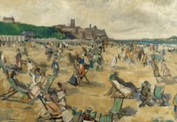 Robert Duckworth Greenham (British, 1906-1975) Cromer beach, midsummer
