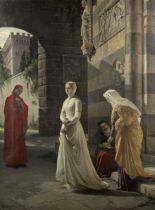 Giulio Cesare Ferrari (Italian, born 1818) The Beatrice of Dante