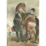 Henry William Pickersgill, RA (British, 1782-1875) 'Oil and Pencil Sketches for Portraits' album ...