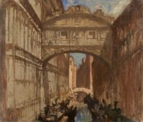 Sir Frank Brangwyn, RA (British, 1867-1956) The Bridge of Sighs, Venice