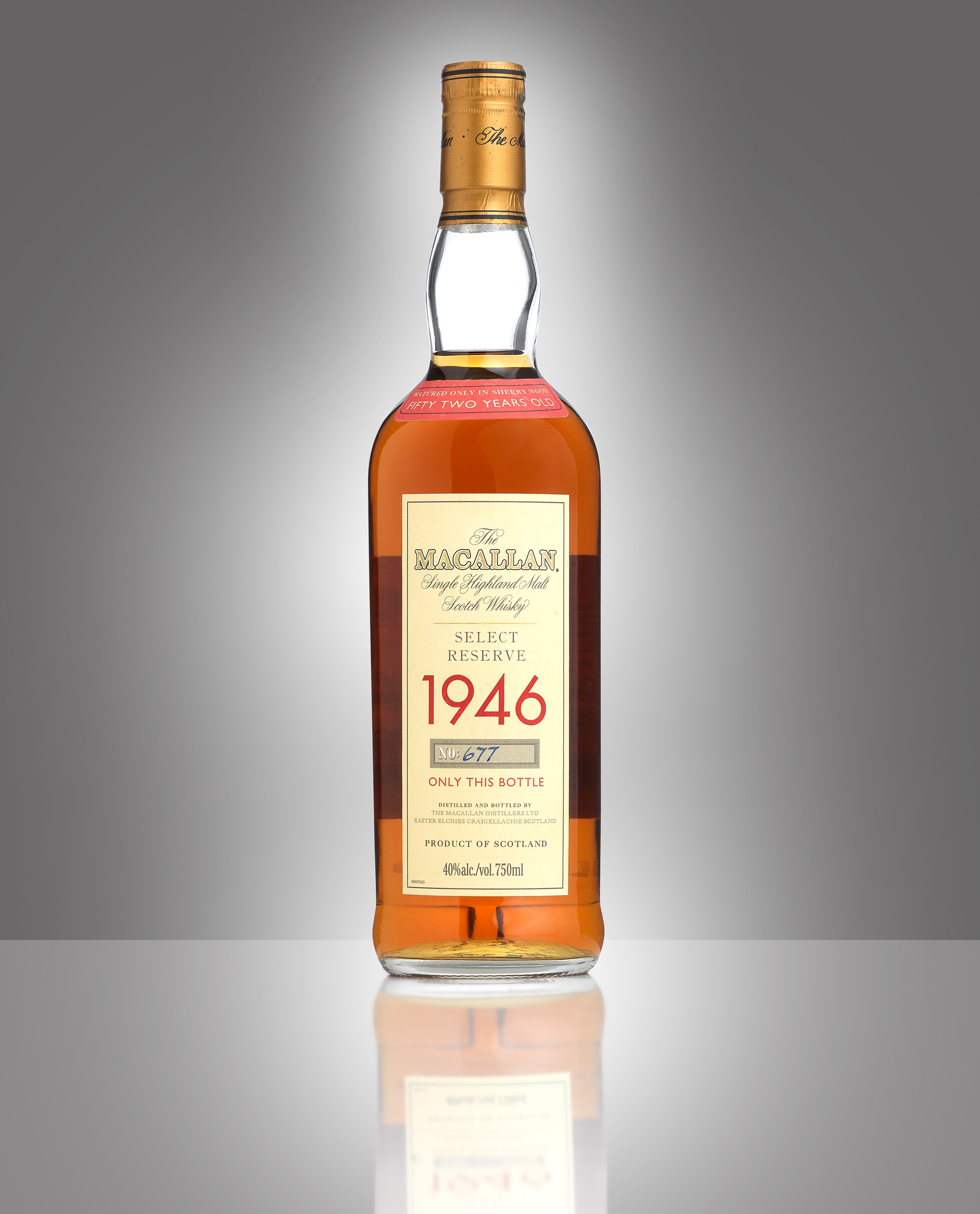 The Macallan Select Reserve-52 year old-1946 - Image 2 of 2