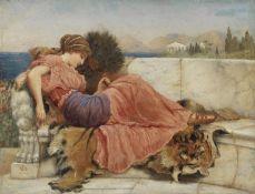 John William Godward, RBA (British, 1861-1922) Study for Amaryllis