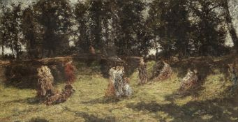 Adolphe Joseph Thomas Monticelli (French, 1824-1886) Light and shade