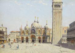 Antonietta Brandeis (Czech, 1849-1926) The Campanile, Venice