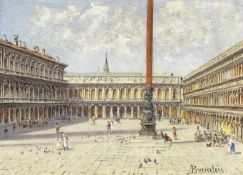 Antonietta Brandeis (Czech, 1849-1926) St. Mark's Square, Venice