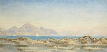 John Brett, ARA (British, 1831-1902) The Rivals from Anglesey