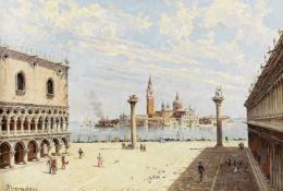 Antonietta Brandeis (Czech, 1849-1926) Piazza San Marco, Venice