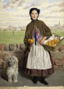 Joseph Edward Worrall (British, 1829-1913) Three-a-penny