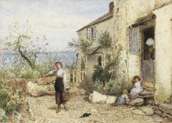 Myles Birket Foster, RWS (British, 1825-1899) Clovelly