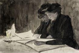 Louis Auguste Mathieu Legrand (French, 1863-1951) L'aperitif