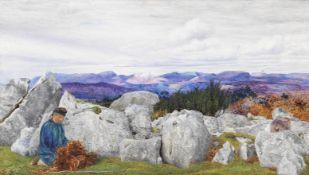 Daniel Alexander Williamson (British, 1823-1903) Westmorland Hills - Effect before Rain