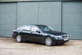 2002 BMW 745LI E66 Chassis no. WBAGN62090DE55759 Engine no. 52822821