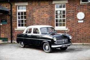 1953 Ford Consul Chassis no. EOTA115613 Engine no. EOTA115613