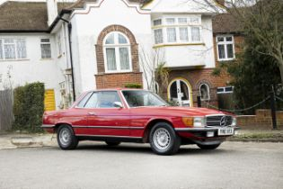 1973 Mercedes-Benz 450 SLC Chassis no. 10702312000820