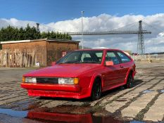 1990 Volkswagen Scirocco Scala Chassis no. WVWZZZ53ZLK001871
