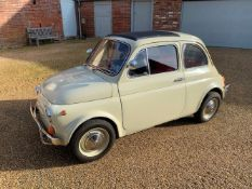 1971 Fiat 500L Chassis no. 2836624