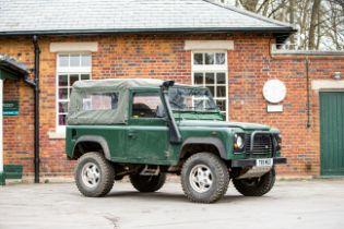 1999 Land Rover Defender 90 Chassis no. SALLDVA87XA163010