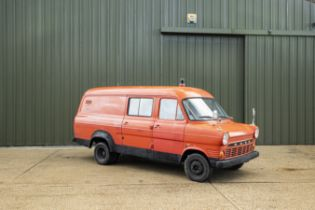 The Property of a Gentleman and Racing Enthusiast,1968 Ford Transit Camper Chassis no. N/A