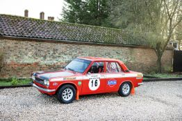 The Property of a Gentleman and Racing Enthusiast,1972 Datsun 1600 SSS Rally Prepared 'PA510' Ch...