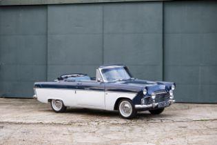 1962 Ford Zodiac Convertible Chassis no. 206EZ62B017018 Engine no. Z247697