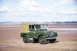 1950 Land Rover Series I 80 Inch Chassis no. R06105133