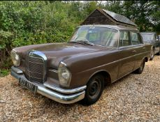 1964 Mercedes-Benz 220 SEb 'Fintail' Saloon Chassis no. 111-041-200S8721