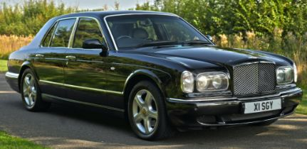 2000 Bentley Arnage Red Label Chassis no. SCBLC32E4YCH05320