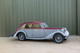 The Property of a Gentleman and Racing Enthusiast,1936 Riley 12/4 Kestrel Sprite Chassis no. SS2...