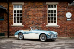 1961 Austin Healey 3000 MkII Chassis no. H-BT7-L/16109