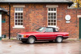 1976 Mercedes-Benz 350SL Convertible Chassis no. 10704322012136