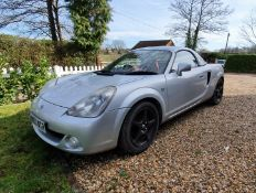 2003 Toyota MR2 Chassis no. JTDFR320700061182
