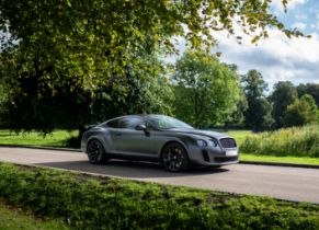 2010 Bentley Continental Supersports Chassis no. SCBCG43W4AC065579