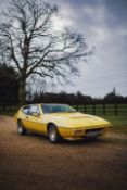 1979 Lotus Eclat V8 'Spyder Donington' Coupé Chassis no. 7811/1364A