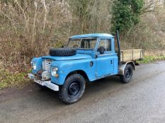 1983 Land Rover Series III 109' Pick Up Chassis no. SALLBCAG1AA170178