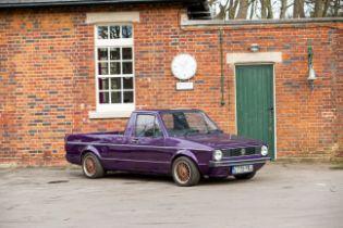 1990 Volkswagen Caddy 1.6 Chassis no. WVWZZZ14ZLW002212 Engine no. JK531448