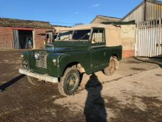 1959 Land Rover Series II Chassis no. 141000108